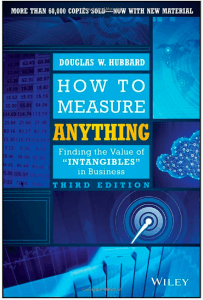 how to measure anything - product management books