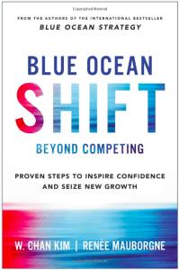 blue ocean shift - product management books