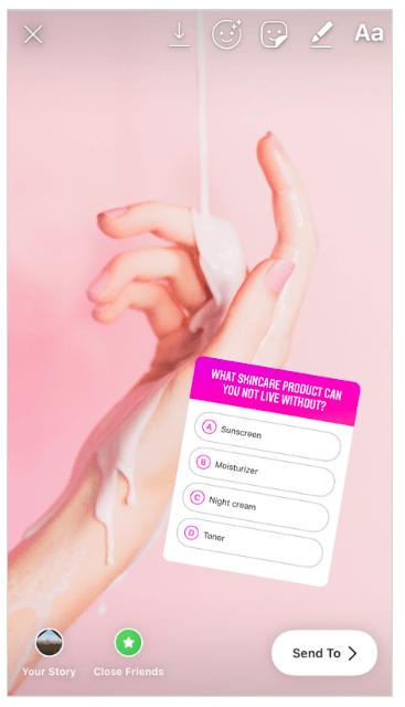 collect customer feedback instagram