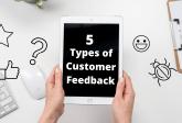 types of customer feedback