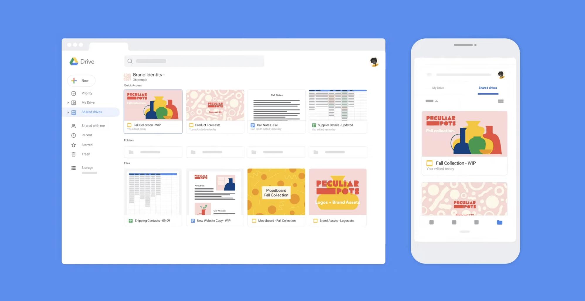 remote team tools - google drive
